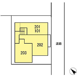 ヴィラージュF[203号室]の外観