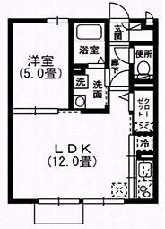 アーバンスクェア2[103号室号室]の間取り