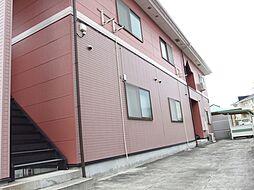 愛知県岡崎市洞町字東前田の賃貸アパートの外観