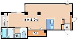 リブラブウエスト神戸[W4号室]の間取り