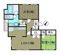 庄井ビル[2階]の間取り
