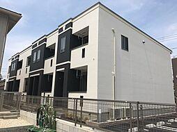 愛知県小牧市大字文津の賃貸アパートの外観