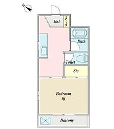太平マンション(リフォーム済、最上階、角住戸)[305号室]の間取り
