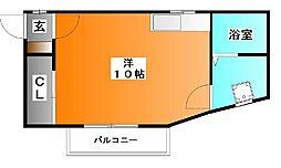 ミシマ参番館[2階]の間取り