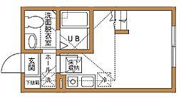 パーシモンテラス弘明寺[1階]の間取り