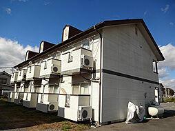 長野県松本市井川城2丁目の賃貸アパートの外観