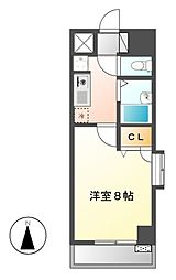 現代ハウス大須[3階]の間取り