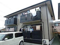 静岡県浜松市東区半田山6の賃貸アパートの外観