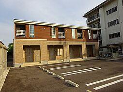 新潟県新潟市中央区長潟3丁目の賃貸アパートの外観