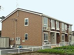 新潟県新潟市北区早通の賃貸アパートの外観