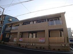 大阪府大阪市東淀川区小松4丁目の賃貸アパートの外観