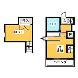 ザ・ヨコハマ[2階]の間取り