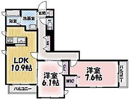 シャーメゾン大樹[305号室号室]の間取り