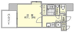 サヴォイ博多エレメンツ[7階]の間取り