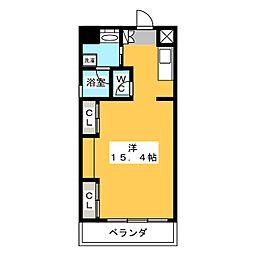 S・ALLEY[6階]の間取り