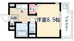 ヤングヴィレッジ2[2E号室]の間取り