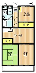 メゾン富士見台[305号室号室]の間取り