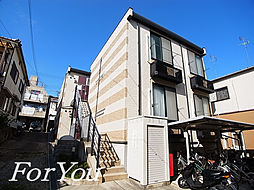 兵庫県神戸市灘区赤坂通4丁目の賃貸アパートの外観