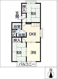 コートカペラ[2階]の間取り