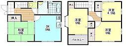 [一戸建] 広島県福山市新涯町1丁目 の賃貸【/】の間取り