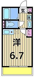 仮称)加平3丁目新築アパート[101号室]の間取り