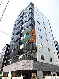東京都中央区東日本橋3丁目の賃貸マンションの外観