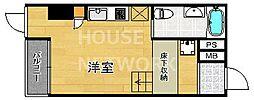 是空HORIKAWA[301号室号室]の間取り