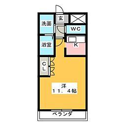 コーポ25[2階]の間取り