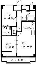 戸塚区川上町 マンションひかり103号室[1階]の間取り