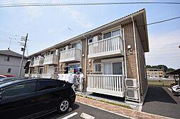栃木県宇都宮市茂原町の賃貸アパートの外観