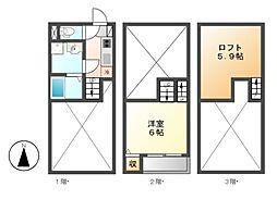 中村ミッドタワー31F[1階]の間取り