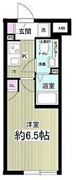 (仮称)AGRATIO目黒本町 1階1Kの間取り