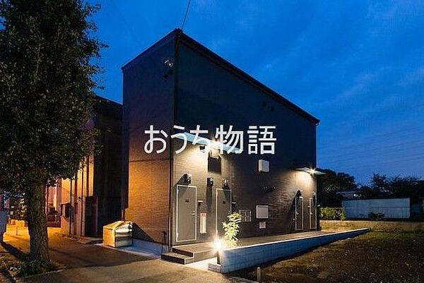 千葉県八千代市勝田台2丁目の賃貸アパートの外観