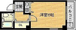 YKヒルズ高殿[4階]の間取り