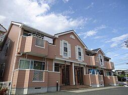 神奈川県秦野市鶴巻の賃貸アパートの外観