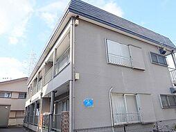 千葉県松戸市新松戸4丁目の賃貸アパートの外観