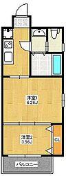 A.T.博多ステーションI[902号室]の間取り
