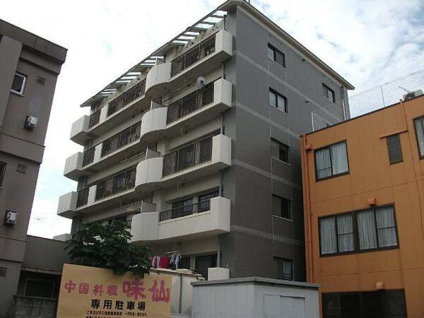 リバーサイド京命[4階]の外観