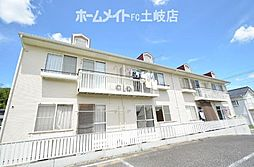 リディア赤坂 A[2階]の外観