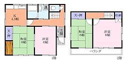 [一戸建] 千葉県習志野市東習志野3丁目 の賃貸【/】の間取り