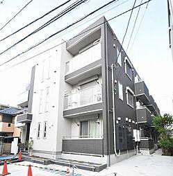 神奈川県川崎市中原区北谷町の賃貸アパートの外観