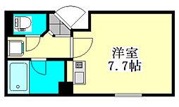 シンエイ第8東船橋マンション[208号室]の間取り