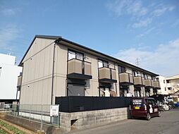 京都府京都市伏見区竹田藁屋町の賃貸アパートの外観