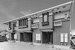 カンパーニュA[2階]の外観