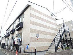 大阪府大阪市東住吉区山坂4丁目の賃貸アパートの外観