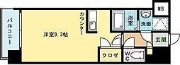 アピアランス到津[702号室]の間取り