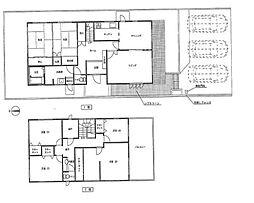 間取り図。75坪で広々。積水ハウスの注文住宅です。