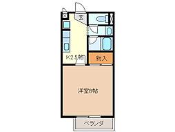NEU HAUS[1階]の間取り