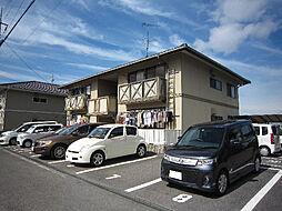 愛媛県松山市南久米町の賃貸アパートの外観