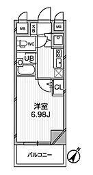 ジョイシティ小石川[3階]の間取り